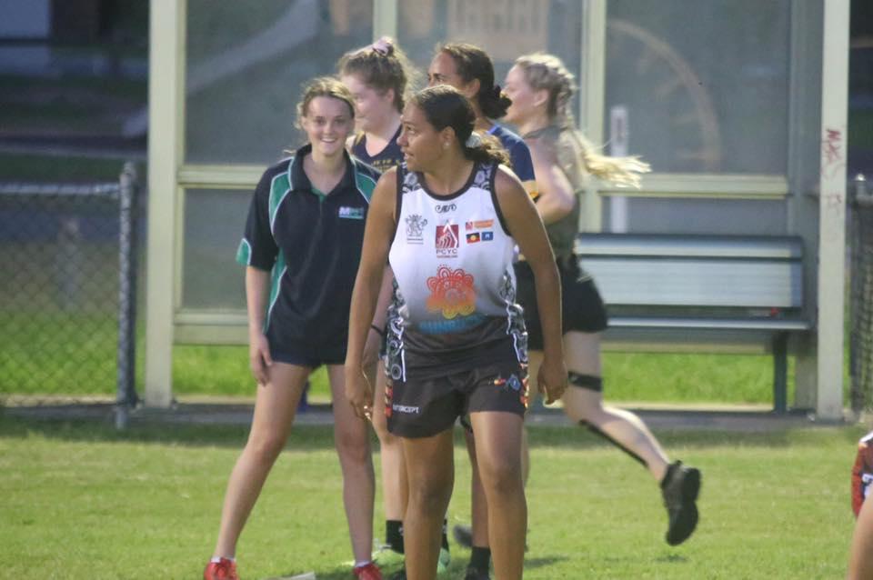 Women AFL at training 1
