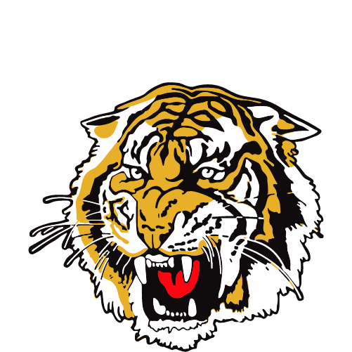 Redcliffe Tigers logo white