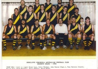 Redcliffe Tigers History 1990