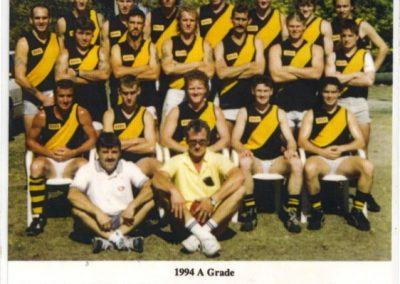 Redcliffe Tigers History 1994