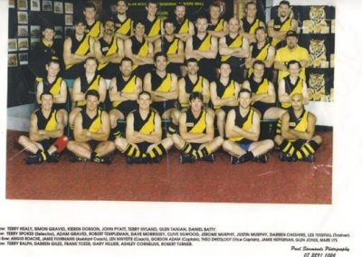 Redcliffe Tigers History 1997