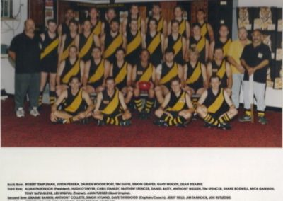 Redcliffe Tigers History 1998