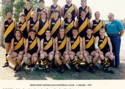 Redcliffe Tigers History 1993