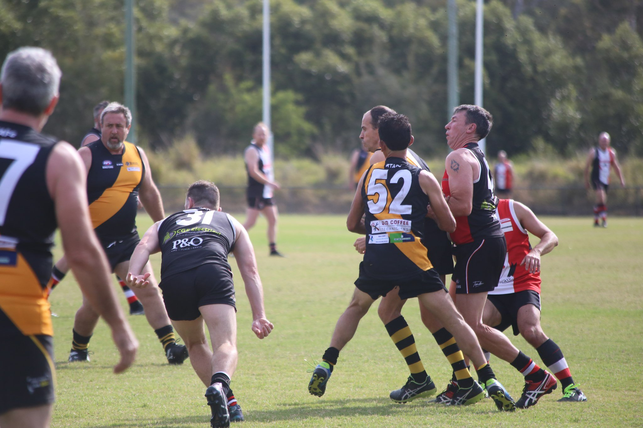 Redcliffe tigers ruck