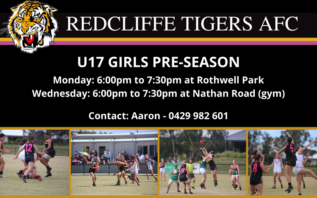 U17.5 Youth Girls Pre Season