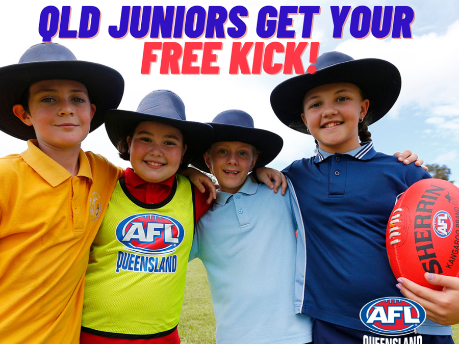 Free footys for all juniors in 2021
