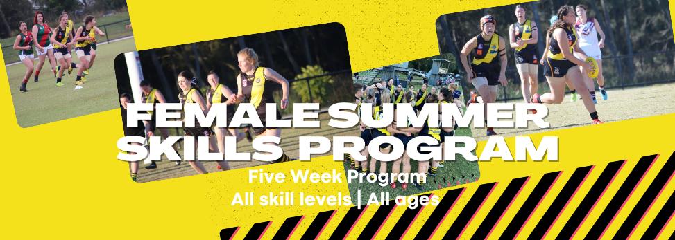 Female Summer Skills Development Program